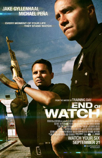 End of Watch movie dvd video