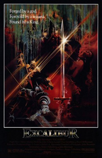Excalibur movie video dvd