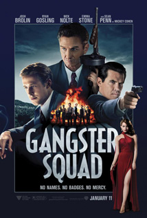 Gangster Squad video dvd movie