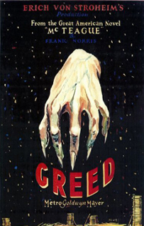 Greed movie video dvd