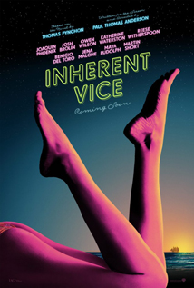 Inherent Vice movie dvd video