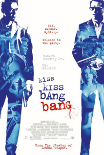 Kiss Kiss Bang Bang movie dvd video