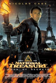 national treasure book of secrets adventure mystery action movie video dvd