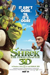 Shrek Forever After animated cartoon kids movie video dvd