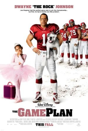 The Game Plan movie dvd video