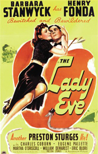 The Lady Eve dvd movie video