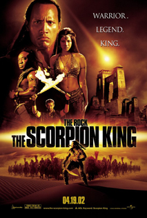 The Scorpion King movie video dvd