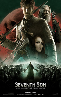 The Seventh Son movie dvd video