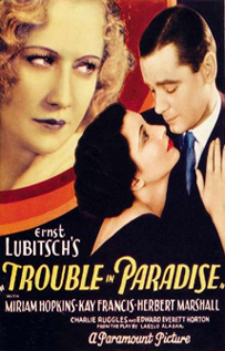 Trouble in Paradise dvd video movie